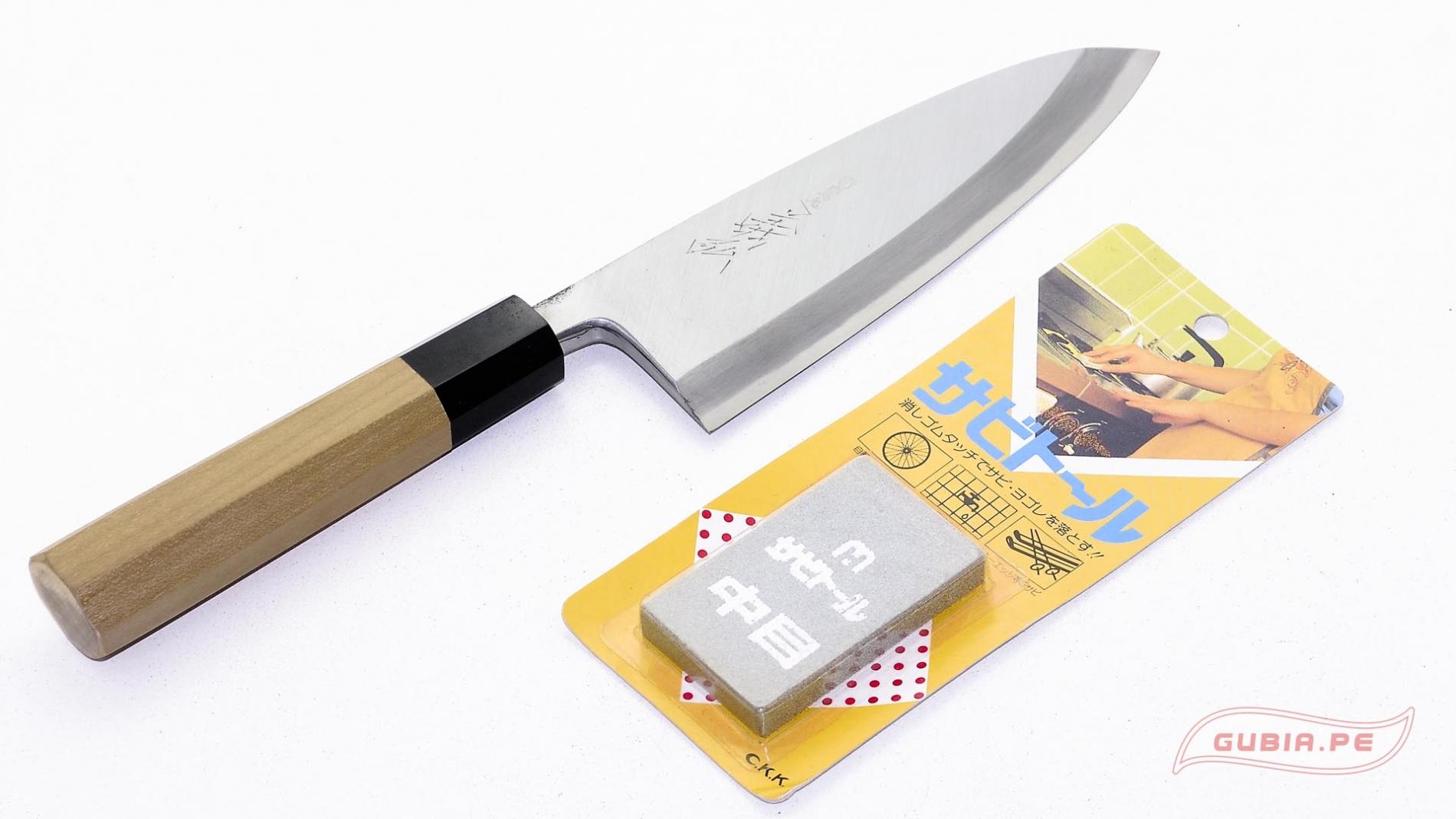 GUB0028-Borrador mediano para limpiar el óxido de cuchillos con alto carbono Sushi GUB0028-max-1.
