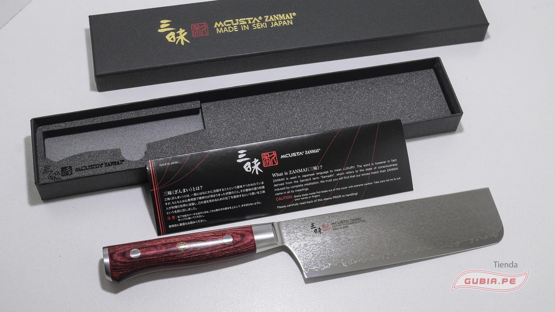 HFR-8008D-Cuchillo Nakiri 16.5cm acero VG10 Classic Pro Damascus Zanmai HFR-8008D-max-8.
