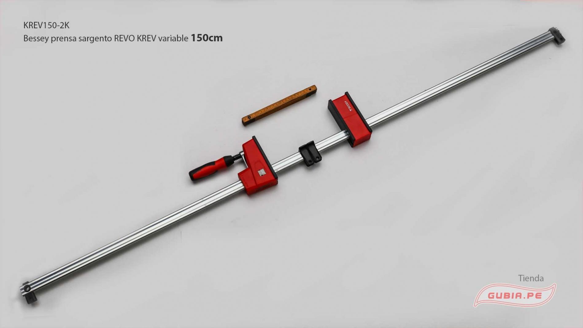 KREV150-2K-Sargento 150x9.5cm REVO variable 8kN Bessey KREV150-2K-max-1.