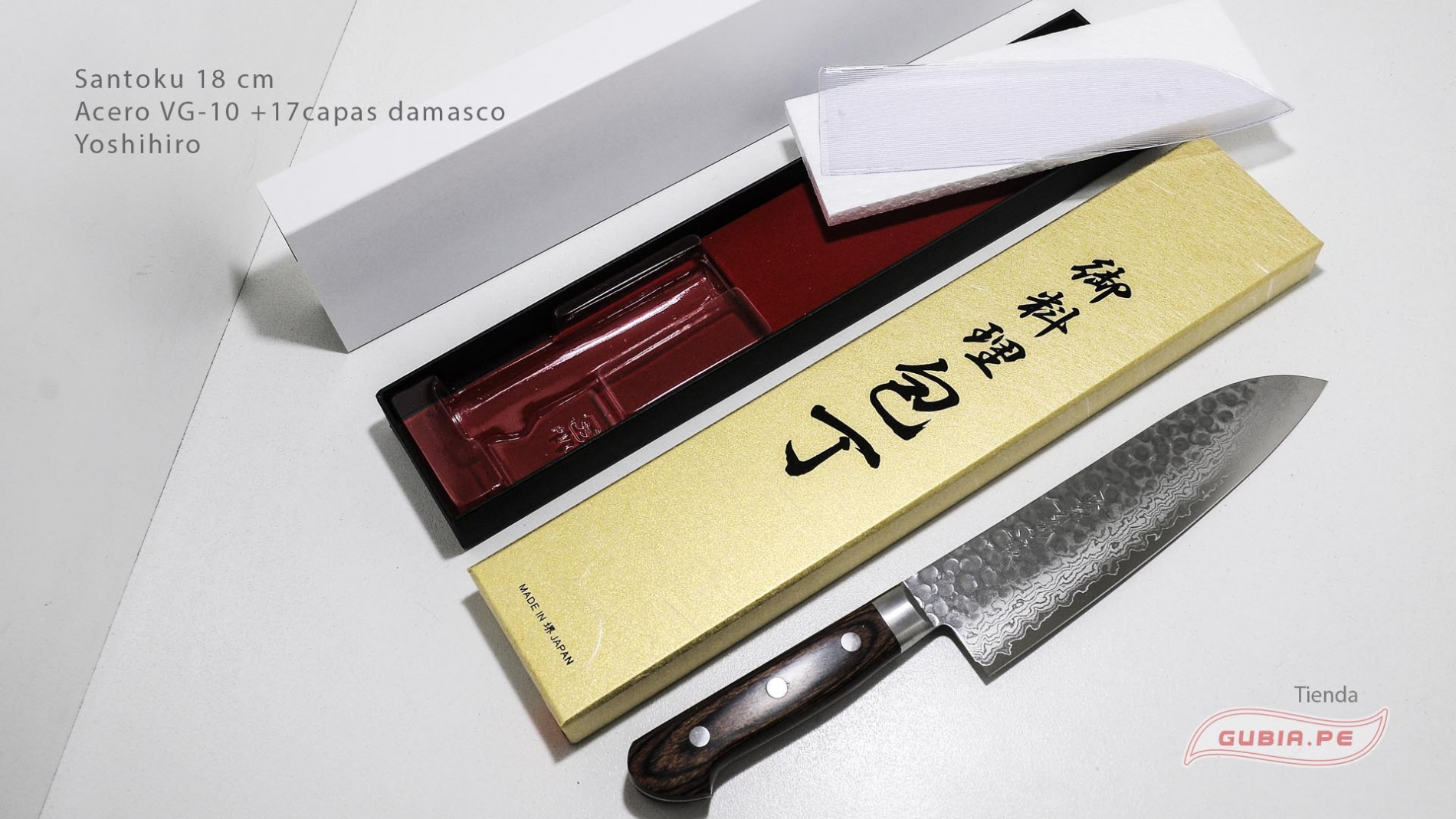 HAAs18-Cuchillo Santoku 18 cm acero VG-10+damasco Yoshihiro HAAs18-max-7.