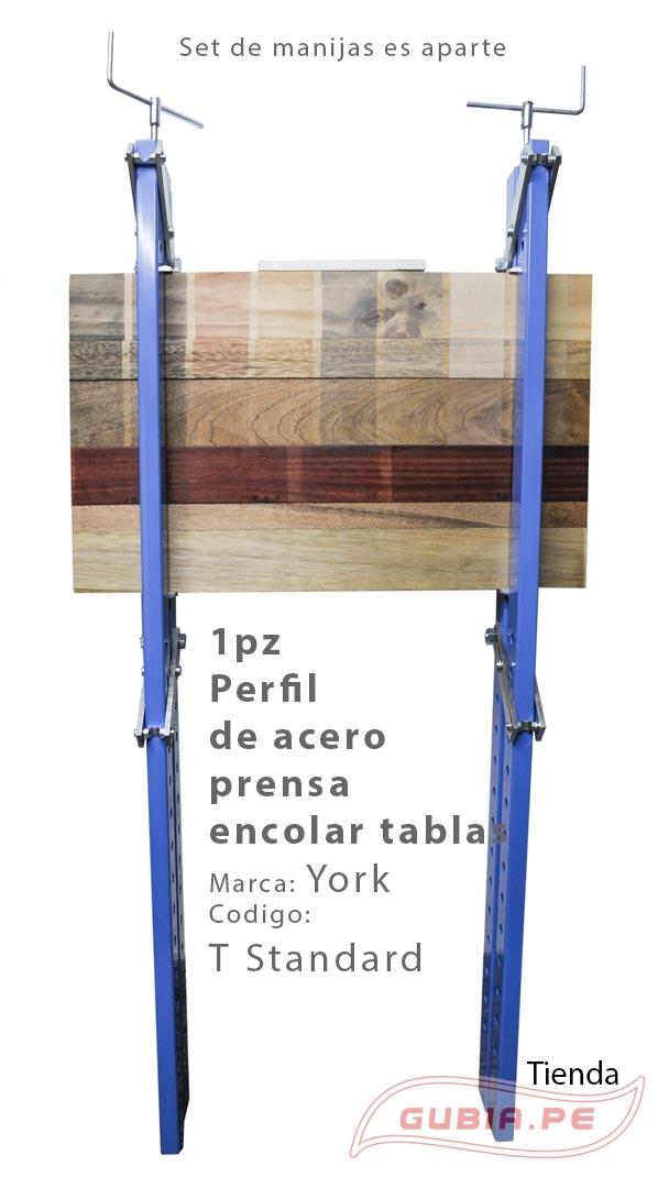 T120Standard-Perfil de acero prensa encolar tablas York T Standard-max-1.