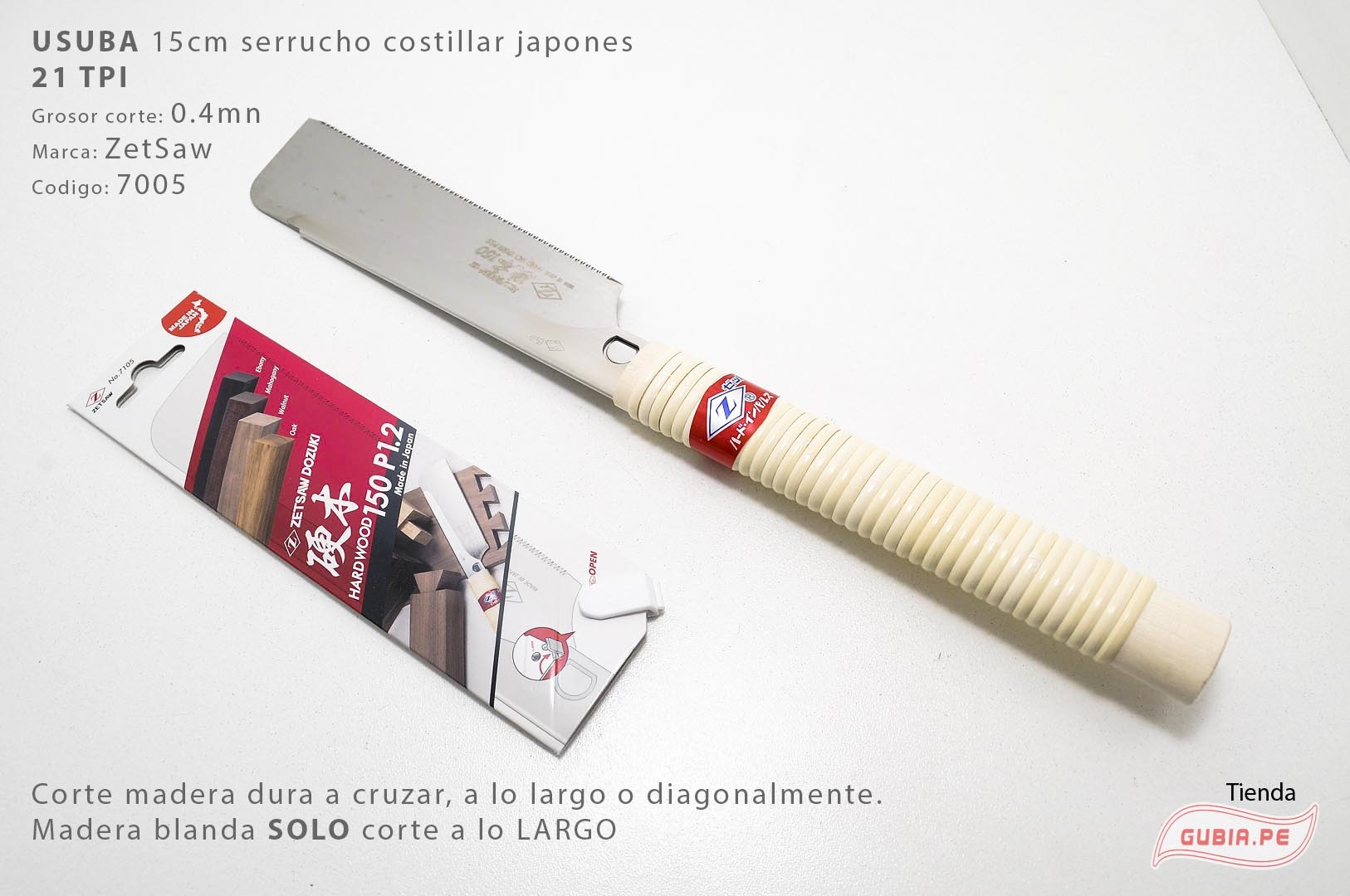 7105-Usuba madera dura 21TPI corte universal  15cm ZetSaaw 7105-max-3.