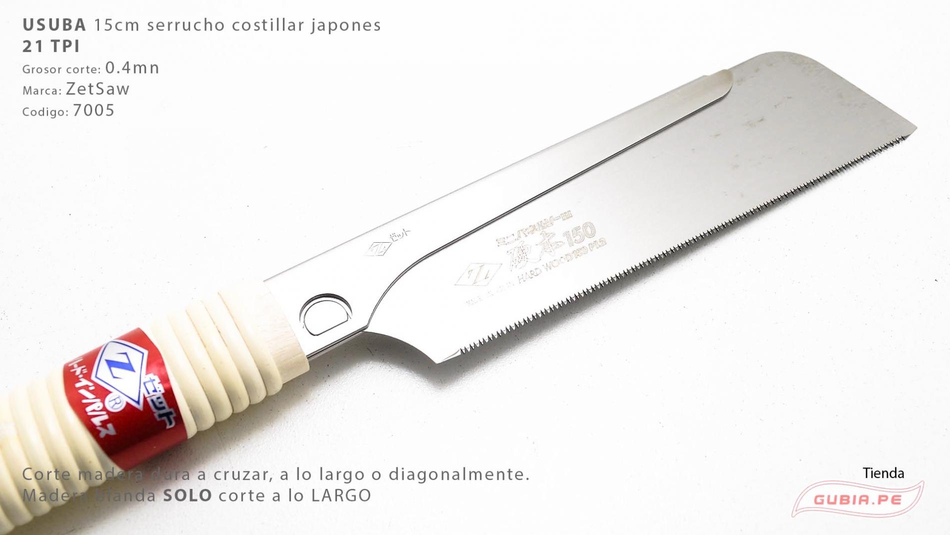 7105-Usuba madera dura 21TPI corte universal  15cm ZetSaaw 7105-max-1.