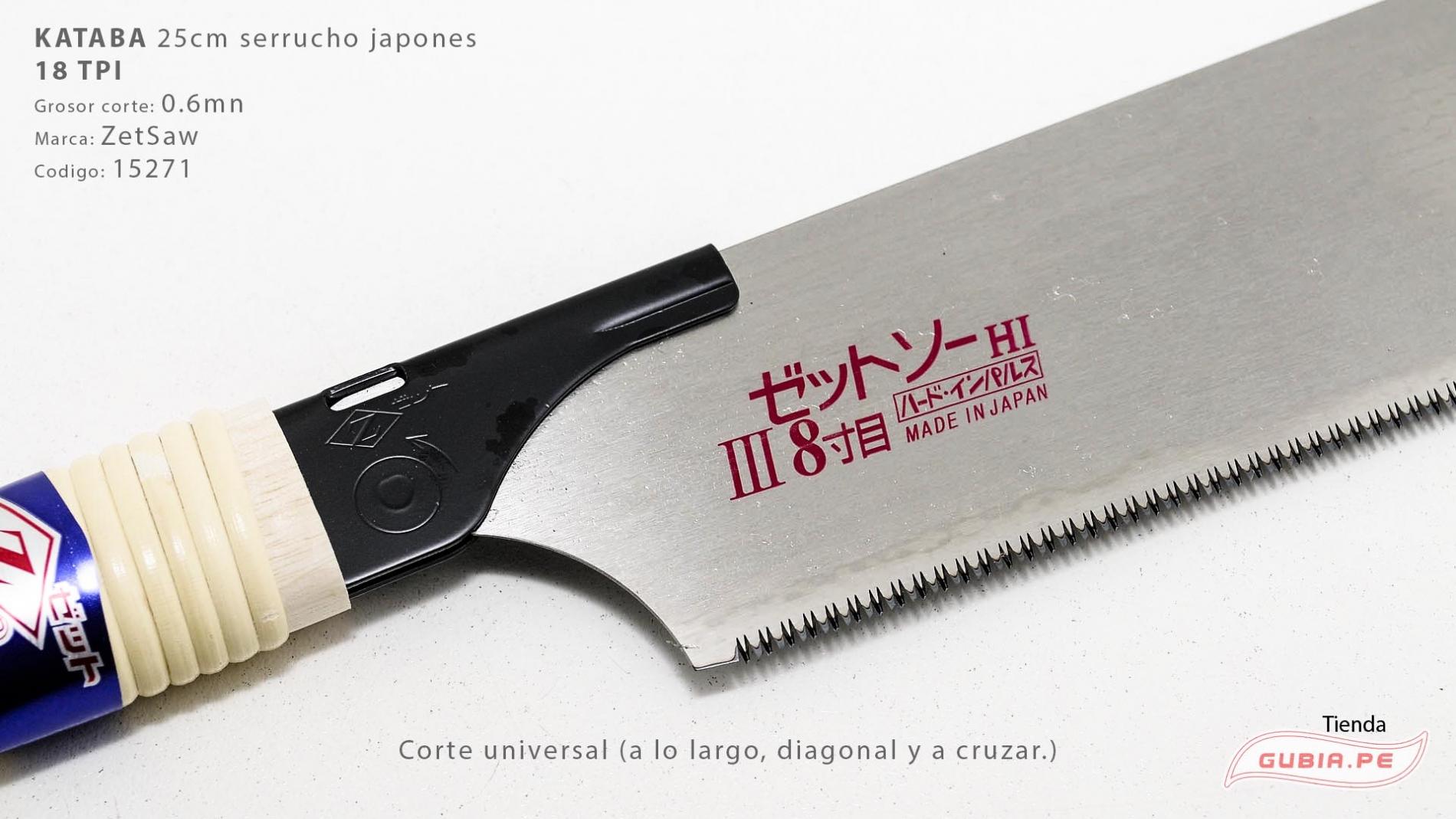 15271-Kataba 18TPI corte universal 25cm ZetSaw 15271-max-1.