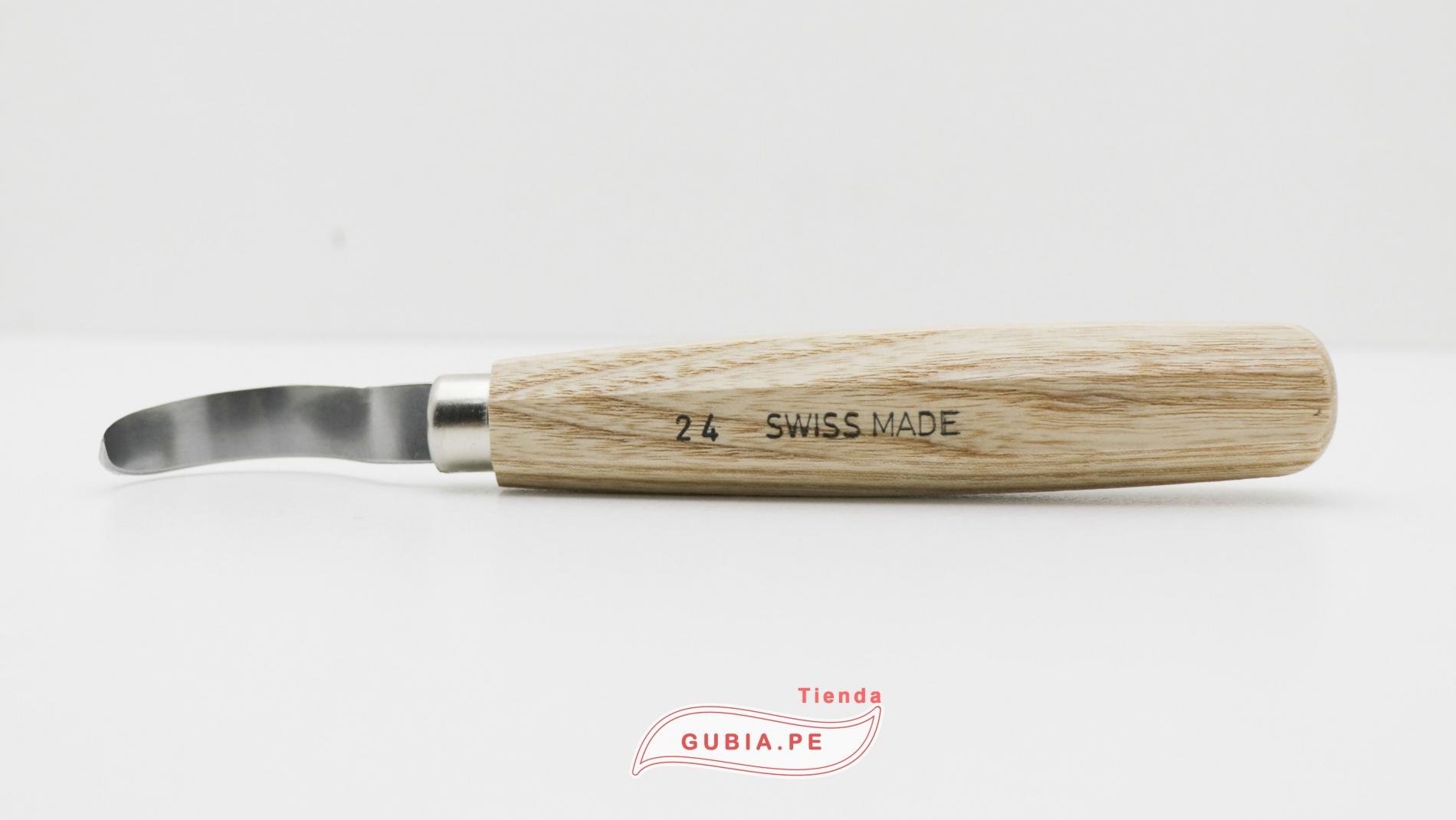 24-Cuchillo vaciador Bisel redondo Derecho. Pfeil 24. Hoja45mm Largo 180mm -max-3.