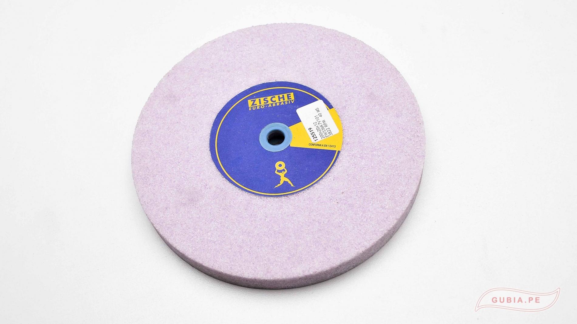 DiscoZ36-Disco de esmeril grano 36 reparar prImer bisel gubias Morado Zische DiscoZ36-max-1.