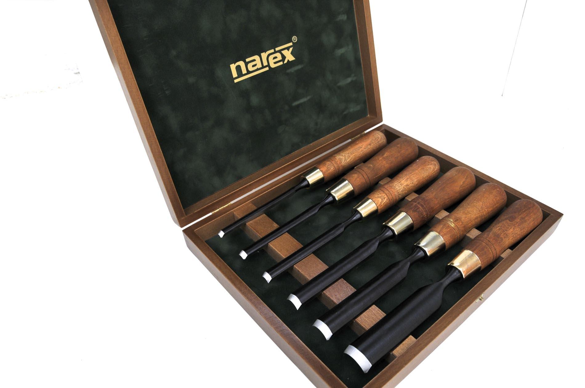 853300-Juego de gubias 6pz FUERTES en caja de madera NAREX 853300-max-5.