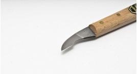 3351000-3351000, Cuchillo para chip carving, corto filo angular.