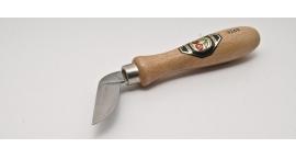 3360000-3360000, Cuchillo para chip carving, hoja doblada, filo curvo.