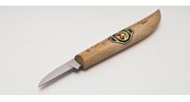 3363000-3363000, Cuchillo para marcar linias, lino o chip carving, cuello redondo, filo recto.