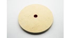 08M40.01-Disco pulir joyeria oro, bronce, cobre, aluminio dureza 5, 12mm, Veritas 08M40.01.