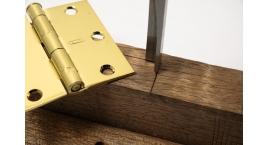 813410-Instalacion bisagras, chapas, formon 90° ancho 10mm Narex 813410.
