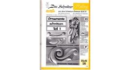 Koch_18-Revista KOCH 18 Aprende tallar en madera flores relieve basico.
