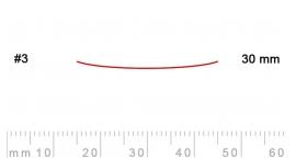 3/30-3/30, Pfeil, Gubia Recta corte 3, 30mm, semiplana.