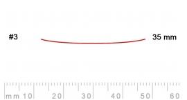 3/35-3/35, Pfeil, Gubia Recta corte 3, 35mm, semiplana.