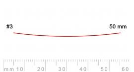 3/50-3/50, Pfeil, Gubia Recta corte 3, 50mm, semiplana.