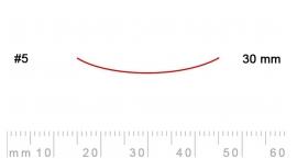 5/30-5/30, Pfeil, Gubia Recta corte 5, 30mm, semiplana.