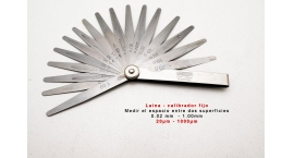 4602-17-Laina calibrador fijo 0.02-1.00mm INSIZE 4602-17.