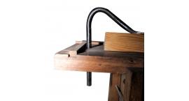 GUB0011-Holdfast prensa agarra rapido 320x220mm artesanal GUB0011.