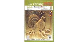 Koch_34-Revista KOCH 34 Aprende tallar aves alto relieve.
