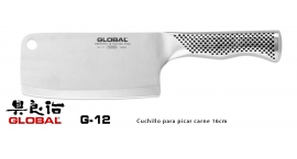 G-12-Cuchillo picar carne 16cm Global G-12.