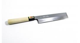 W3-13300-Cuchillo Usuba Kakugata 180mm acero White #3.