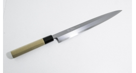 W2-y270-Cuchillo Yanagi 270mm acero White #2 .