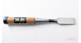 FWP21-Oire Nomi formon japones 21mm acero laminado Shirogami #1 Fujikawa FWP21.