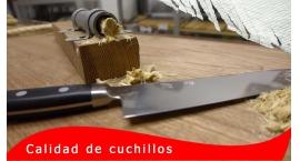 Maxima-Retencion-Mejor cuchillo de cocina [RESULTADOS-acero] por Gubia PE.