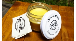GUB0032-Cera de abeja para acabados en madera o cuero con citronela y vainilla GUB0032.