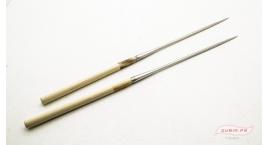 GUB0037-Palitos servir sushi Moribashi Chopsticks metal 21cm GUB0037.