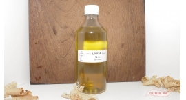 GUB0040-Aceite de Linaza 1/2 litro  acabado de madera y antipolillas GUB0040.
