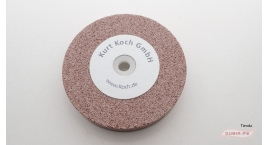 HT50231-Disco de esmeril 125x20mm grano 220 afilar-reparar gubias sin destemplar KOCH  HT50231.