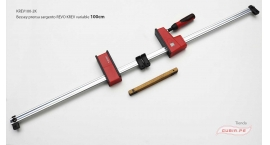 KREV100-2K-Sargento 100x9.5cm REVO variable 8kN Bessey KREV100-2K.