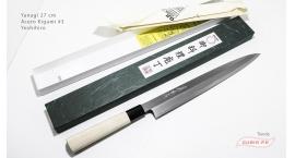 y27k3-Cuchillo Yanagi 27cm acero Kigami #3 Yoshihiro y27k3.