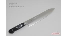 g24srs15-Cuchillo Gyuto 24 cm acero SRS15 Yoshihiro g24srs15.