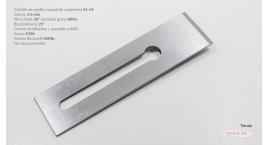 K390-51mm-Cuchilla de cepillo #4, #5 acero K390 filo muy resistente, 64 HRc, K390-51mm.