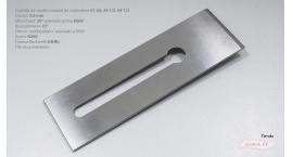 K390-60mm-Cuchilla de cepillo #7, #6, #5 1/2, #4 1/2 acero K390 filo muy resistente, 64HRc, K390-60mm.