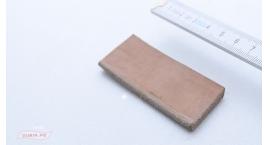 GUB0053-Cuero para sacar rebaba y perfilado de gubias 7x3cm GUB0053.