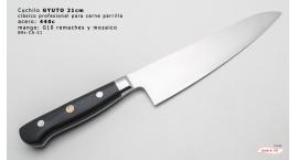B9s-CS-21-Cuchillo chef 21cm clásico carnicero parilla 440c acero B9s-CS-21.