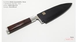 HZ-BJ-YTD180-Deba 18cm +funda X90CrMoV18 RoseWood HZ-BJ-YTD180.