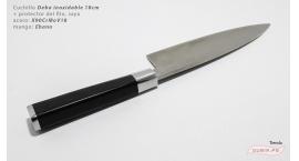 XZ-BJ-YTD180-Deba 18cm X90CrMoV18 Ebano XZ-BJ-YTD180.