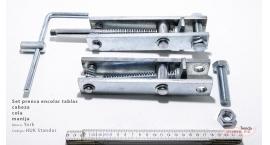 HUK Standard-Set prensa encolar tablas cabeza, cola y manija York HUK Standard.
