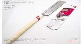 07123-Usuba 24cm madera dura 21TPI corte universal ZetSaw 07123.