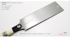 30007-Ryoba 25cm doble filo 18TPI Z-saw 30007.
