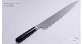 B1sG27-Cuchillo Gyuto 27cm acero 440C B1sG27.