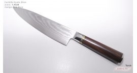 B1gd20-Cuchillo Gyuto 20cm acero 1.4528+damasco  B1gd20.