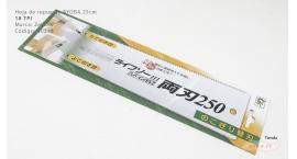 30210-Hoja de repuesto Ryoba 25cm doble filo 18TPI Z-saw  Z-aw 30210.