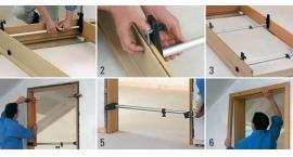 TMS-Puntal para montaje de marcos de puertas y ventanas.Bessey  TMS .