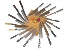 Cuchillos de cocina disponible en tienda en Lima-Perú gubia.pe